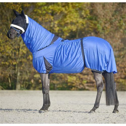 Ochranná deka pro koně trpící ekzémy, Waldhausen, modrá