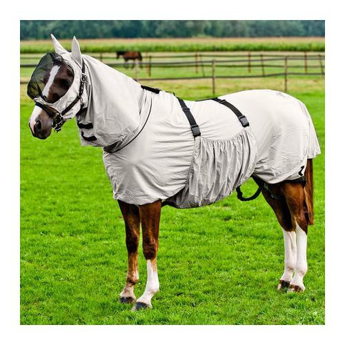 Ochranná deka pro koně trpící ekzemy, Horze, béžová