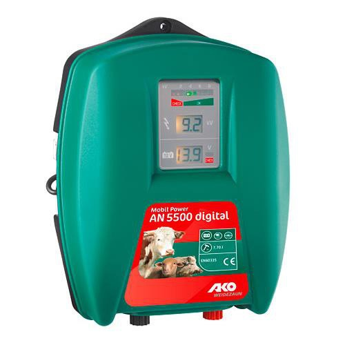 Zdroj pro elektrická hrazení AKO Mobil Power AN 5500 digital, 5 J
