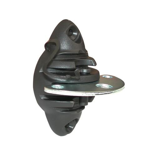 Izolátor pro elektrické ohradníky LACME ISOBAR MULTI k brance, koncový třístranný