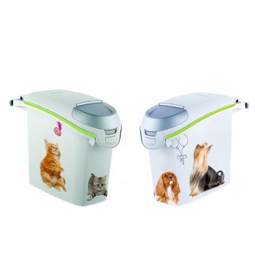 Kontejner na krmivo CURVER 15l/6kg, psi / kočky