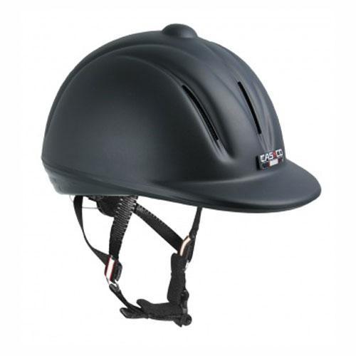 Jezdecká bezpečnostní přilba CASCO YOUNGSTER, černá