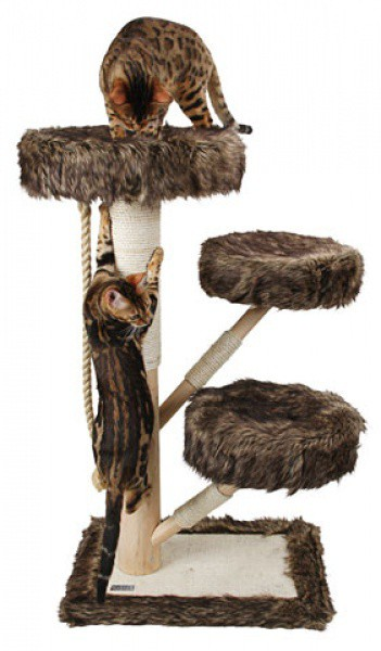 Škrabadlo pro kočky ZAMUNDA - škrabadlo a odpočívadlo pro kočky