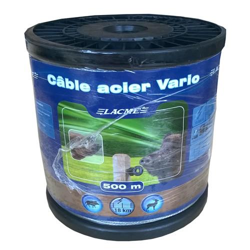 Ocelové lanko Lacme Ø 1,5 mm, pro elektrické ohradníky, 500m
