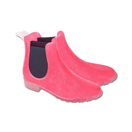 Dětská gumová jezdecká perka Waldhausen, růžová