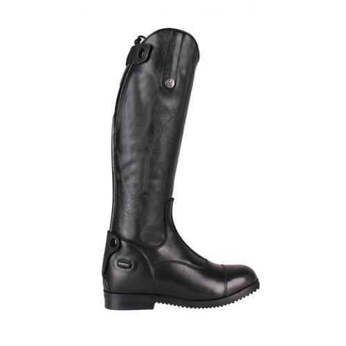 Dětské kožené jezdecké boty QHP Birgit Junior, černé