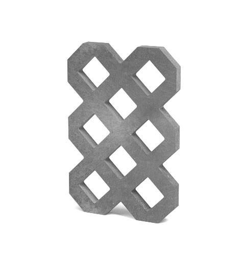 Zatravňovací dlažba Lite, 60 × 40 × 4 cm, šedá