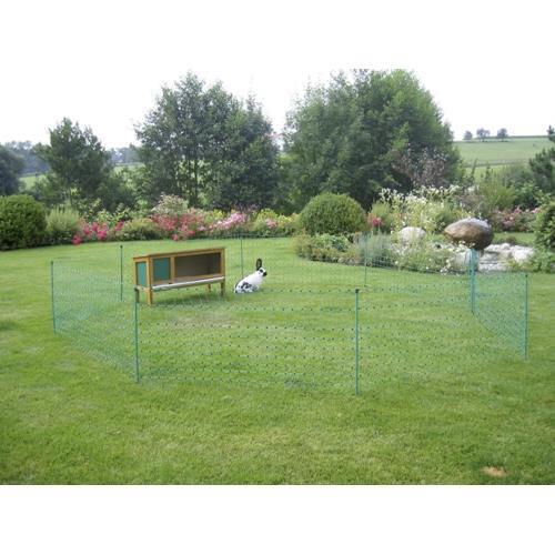 Síť pro králíky 65 cm, jednoduchá špička - vodivá, 50 m