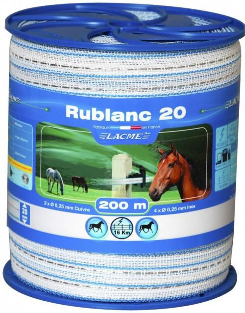 Elektrická páska RUBLANC 20 mm, 200 m