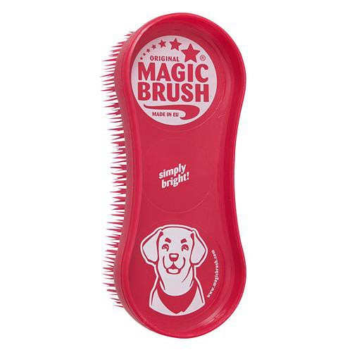 Kartáč na psa MagicBrush, červený