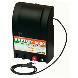 Zdroj pro elektrický ohradník RAPTOR+ 6000, síťový, 4,2 J