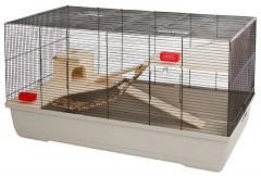 Klec pro křečky, morčata, myši a jiné hlodavce Hamster 102