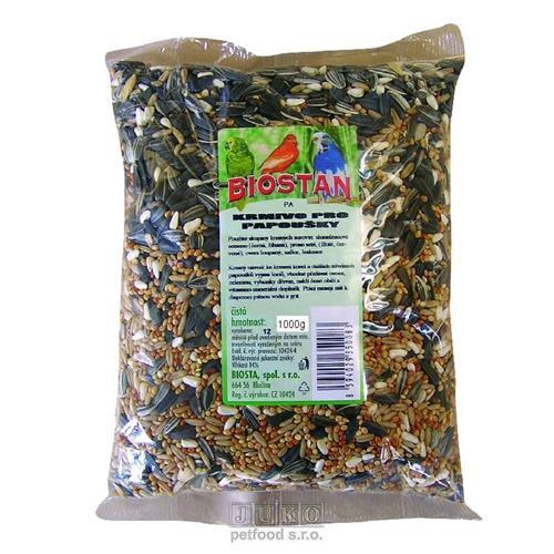 BIOSTAN PA-Z krmivo pro papoušky, korely 1kg
