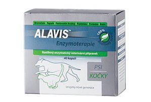 ALAVIS CURENZYM Enzymoterapie 80 kapslí