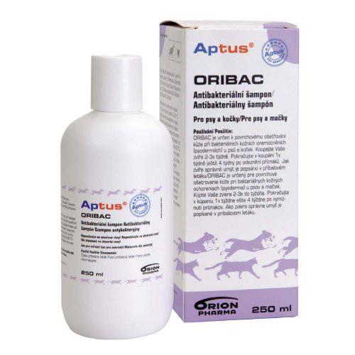 Aptus Oribac antibakteriální šampon 250ml pro psy a kočky