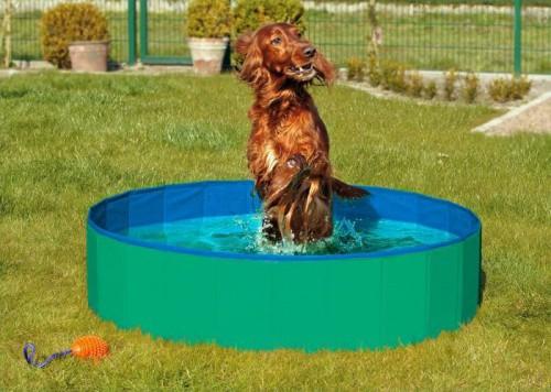 Karlie-Flamingo Skládací bazén pro psy zeleno/modrý 120x30cm