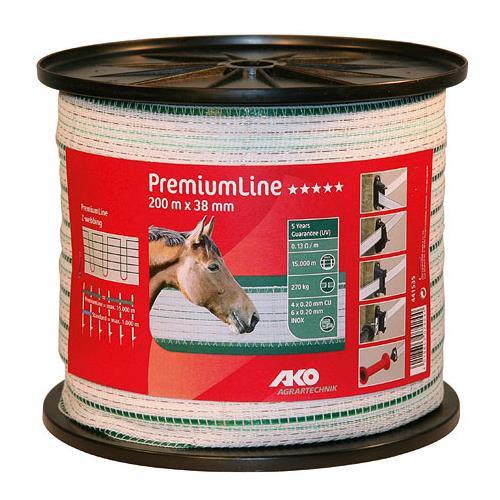 Polyetylenová páska pro elektrické ohradníky PremiumLine Q 40 mm
