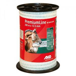 Polyetylenová páska pro elektrické ohradníky PremiumLine Q 12,5 mm