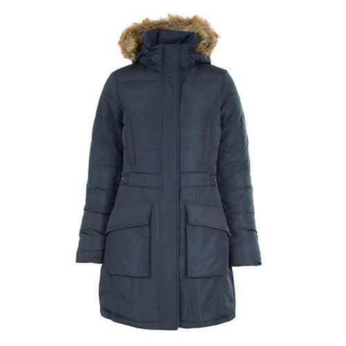 Dámský zimní kabát Horze Clarissa, modrý