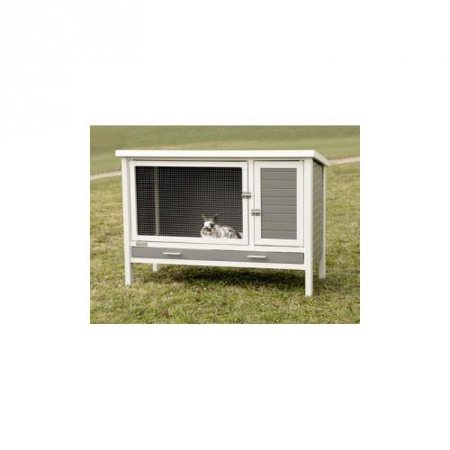 KERBL Králíkárna Samy EKO plast- kotec pro králíky a jiné hlodavce, 116 x 57 x 82 cm