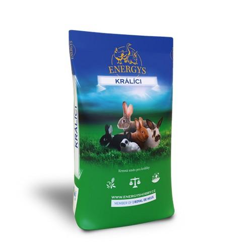 ENERGYS KRÁLÍK GOLD FORTE, 25 kg, granule