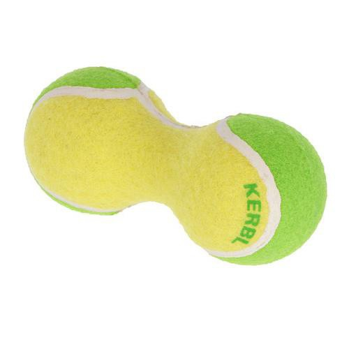 Hračka pro psy činka z tenisáků, 15 cm