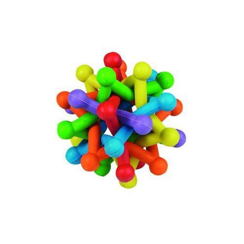 Gumová hračka pro psy Atom, 10 cm