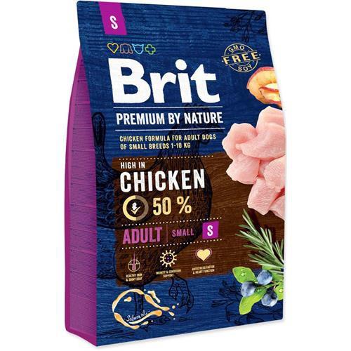 Brit Premium by Nature Adult S, 8 kg