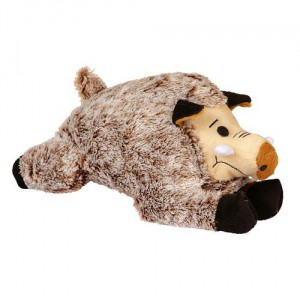 Hračka pro psy pískací hadrový divočák, 25 cm