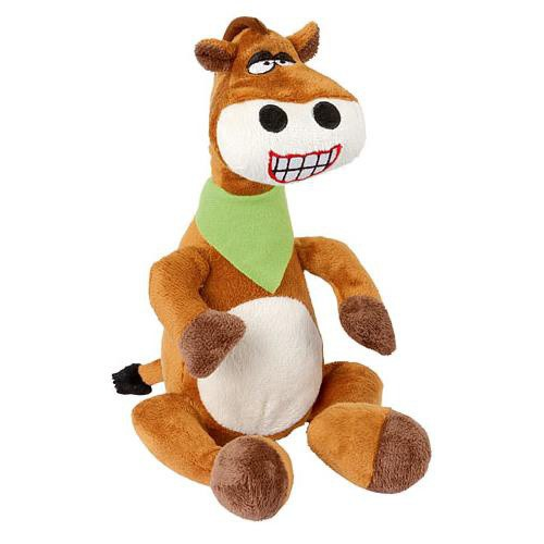 Hračka pro psy pískací hadrový kůň, 30 cm