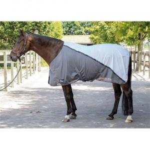 Letní deka Harrys Horse Mash, bílo-šedá