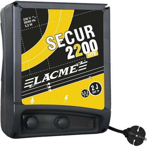 Zdroj pro elektrický ohradník LACME SECUR 2200 HTE, síťový, 2 J