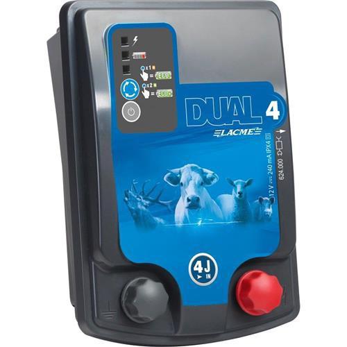 Zdroj pro elektrický ohradník LACME DUAL D4, kombinovaný, 3 J