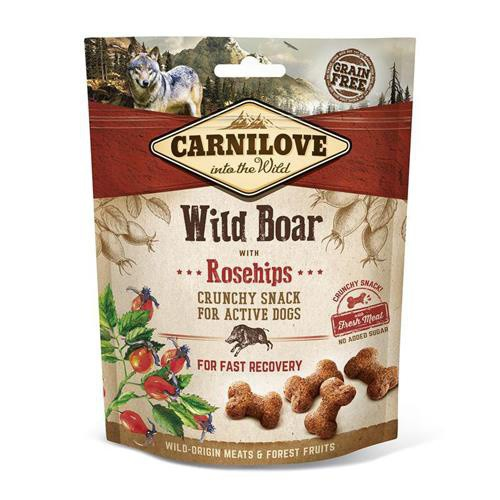 Pamlsek pro psy Carnilove Wild Boar 200 g