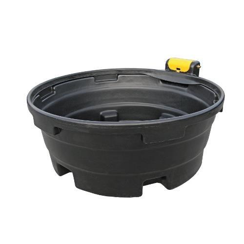 Napájecí žlaby s ventilem, kruhové - 1125 l