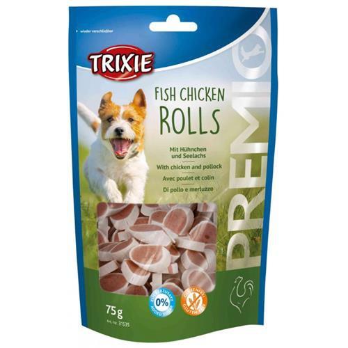 Pamlsek pro psy Trixie, kuře a ryba, 75 g