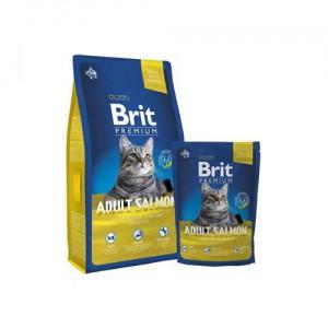 Brit Premium Cat Adult Salmon - 8 kg