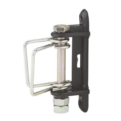Izolátor pro elektrické ohradníky, rohový se šroubem a sponami pro pásky do 40 mm