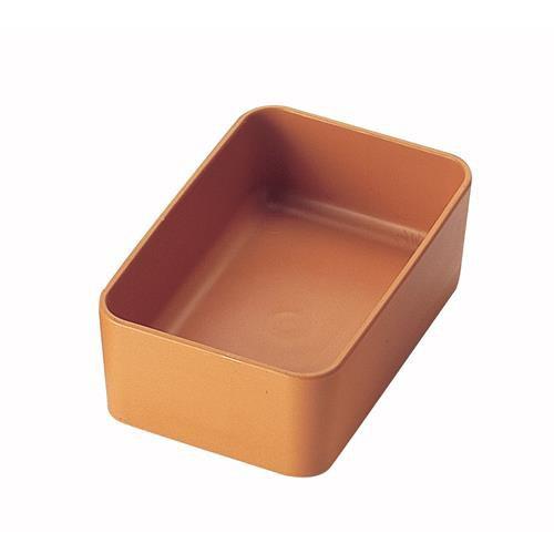 Plastová hranatá miska s težkým dnem, 500 ml