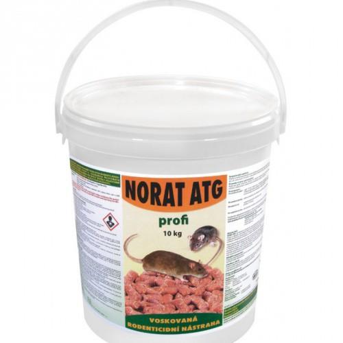 Norat ATG voskované granule 25 ppm - balení 10 kg