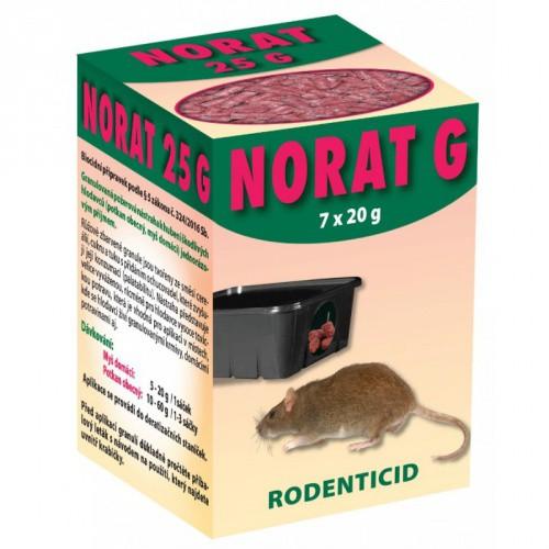 Norat G granule 25 ppm - balení 7x20g