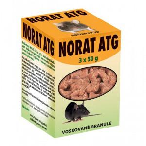 Norat ATG voskované granule 25 ppm - balení 3x50g
