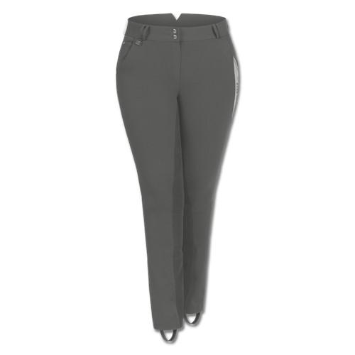 Dámské pantalony pro plnoštíhlé ELT Elena, šedé