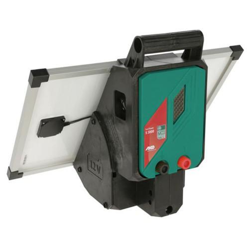 Zdroj pro elektrický ohradník AKO Sun Power S 3000, kombinovaný, 3 J