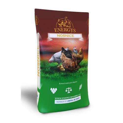 Krmivo pro kuřata Energys Mini, 25kg, drcená směs