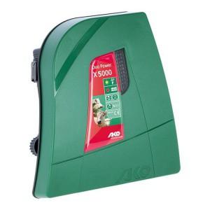 Zdroj pro elektrický ohradník kombinovaný AKO DUO-Power X 5000, 4,5 J