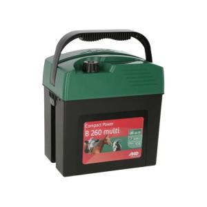 Zdroj pro elektrický ohradník AKO Compact Power B 260 multi, kombinovaný, 0,26 J