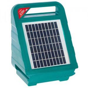Zdroj pro elektrický ohradník AKO Sun Power S 250, kombinovaný, 0,25 J