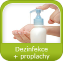 Dezinfekce + proplachy